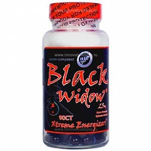 Hi-Tech Black Widow 25 mg Ephedra фото