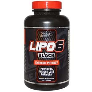 Nutrex Lipo 6 Black фото