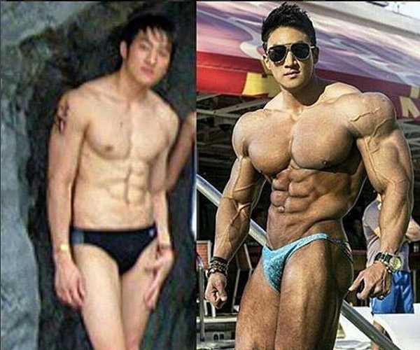 Чул Сун до и после