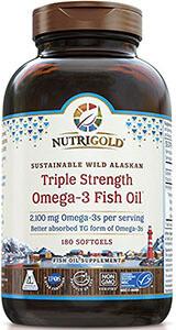 Nutrigold Triple Strength Fish Oil фото