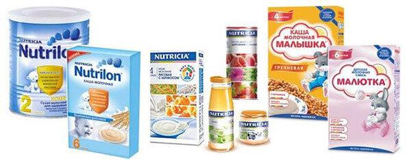 Варианты детского питания для массы фото