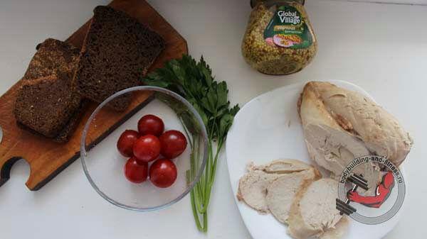 ПП бутерброды рецепт 1 шаг 1