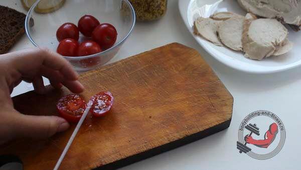 ПП бутерброды рецепт 1 шаг 2