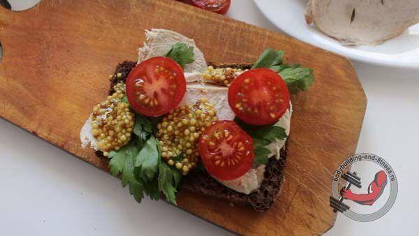 ПП бутерброды рецепт 1 шаг 4