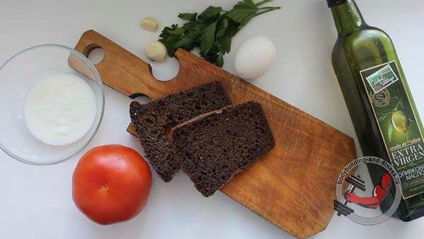 ПП бутерброды рецепт 3 шаг 1