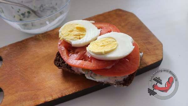 ПП бутерброды рецепт 3 шаг 5