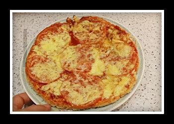 ПП пицца: рецепт на курином фарше