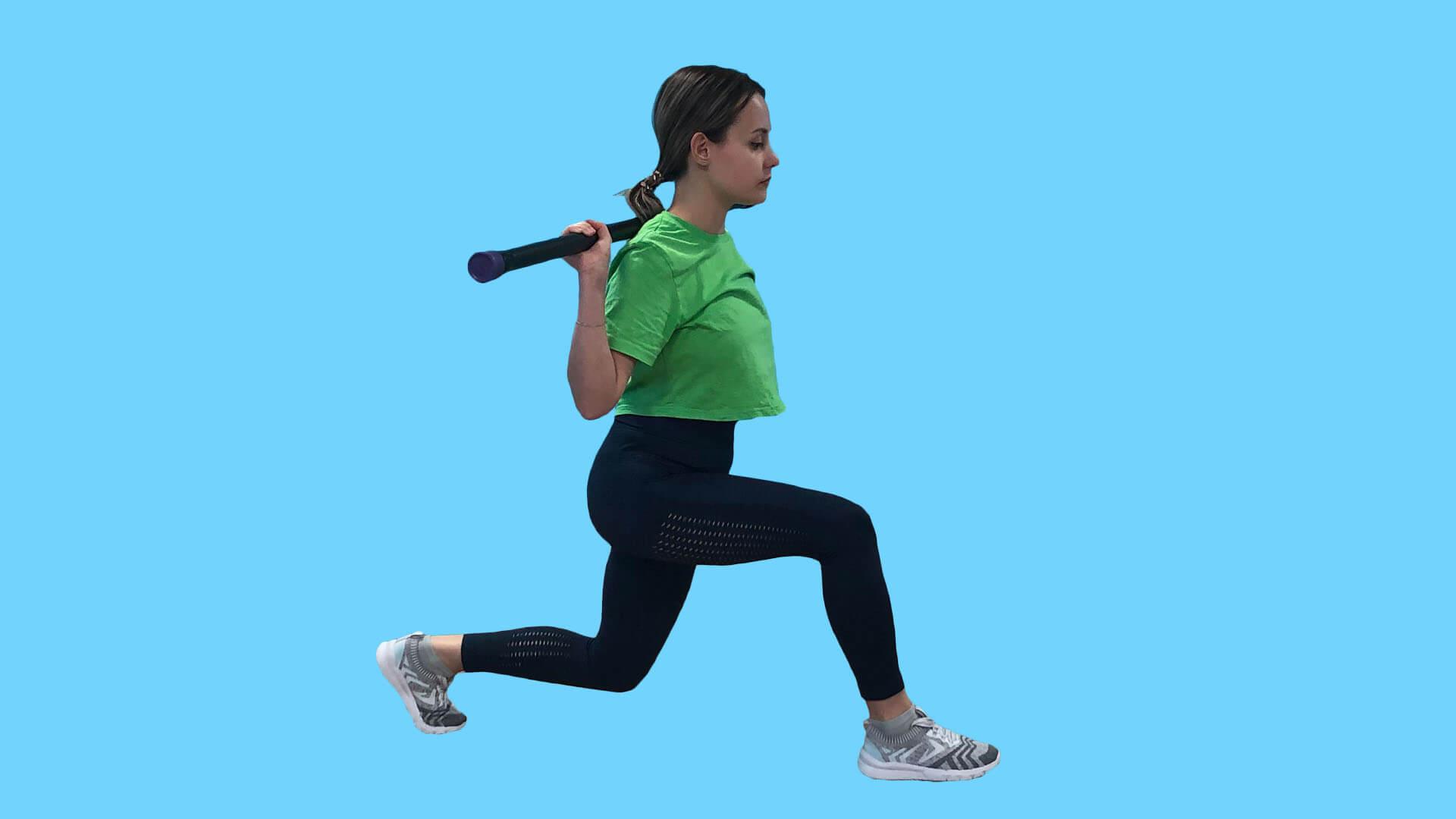 Упражнения с бодибаром: фото.