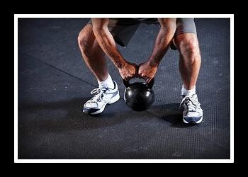 Становая тяга с гирей фото