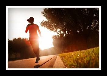 Бег по утрам фото
