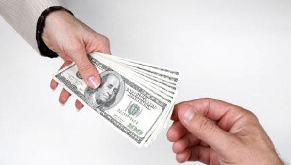 Спор на деньги