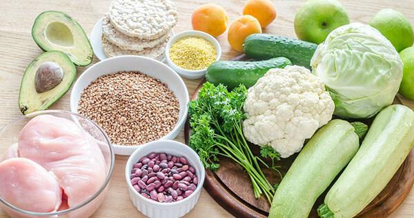 Правильные продукты питания фото