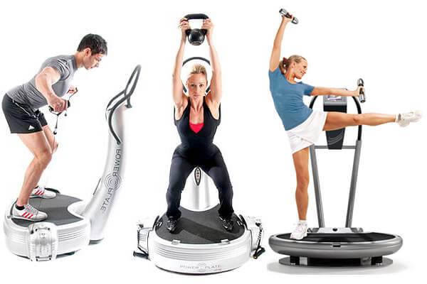 Виброплатформа упражнения