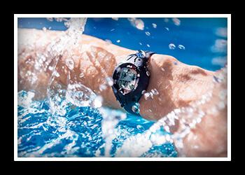 Часы для плавания фото