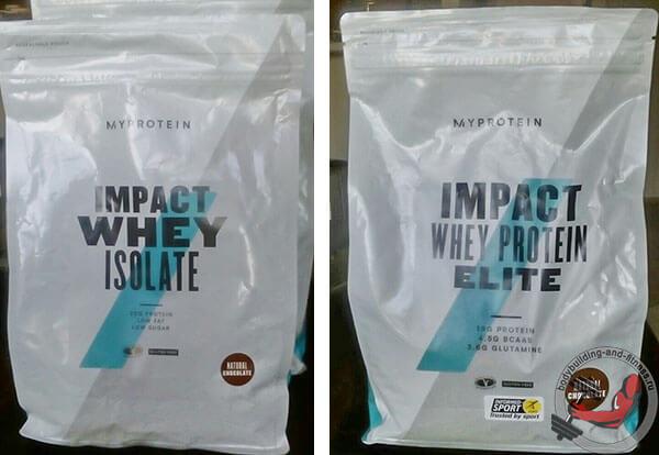 impact whey protein elite или isolate