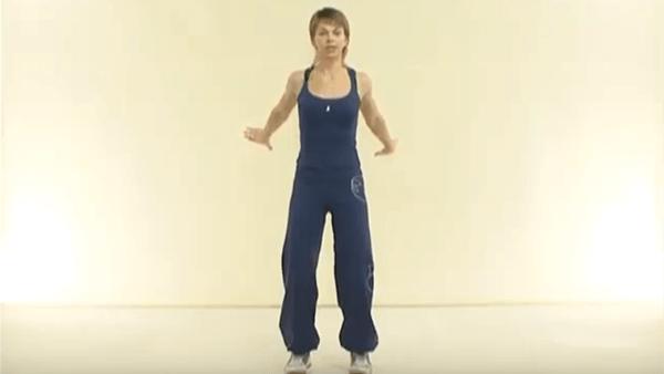 Основное упражнение калланетики 1