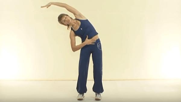 Основное упражнение калланетики 2