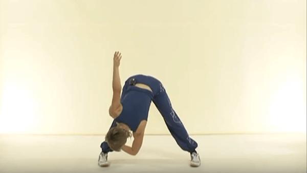 Основное упражнение калланетики 4