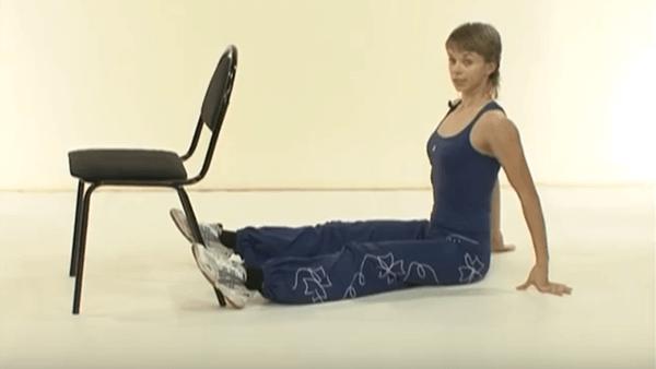 Основное упражнение калланетики 8