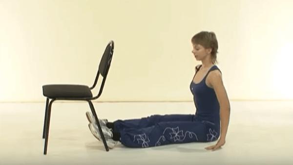 Основное упражнение калланетики 9