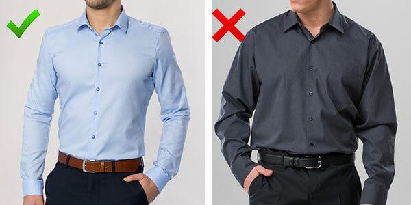 Рубашки для ширины плеч