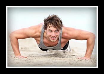 Отжимания на грудные мышцы фото
