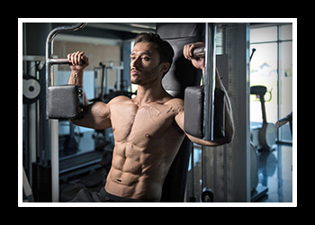 Тренажер для грудных мышц фото