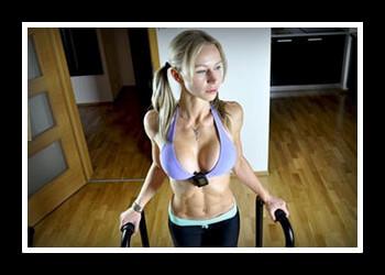 Упражнения для подтяжки груди фото