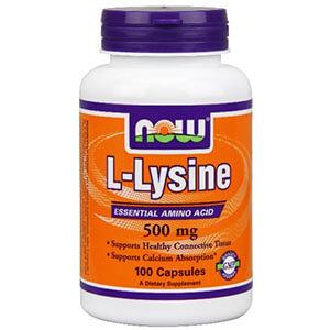 lysine NOW foods