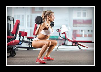 Лучшая круговая тренировка. Круговая тренировка для девушек и женщин в тренажерном зале или дома для сжигания жира