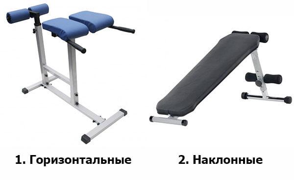 Типы римского стула