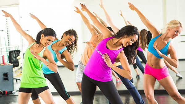 Фитнес танцы фото