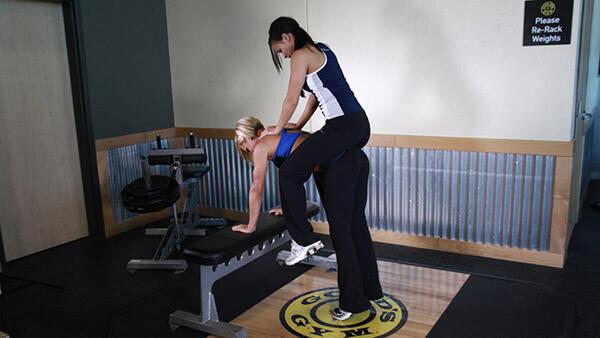 Упражнение ослик фото