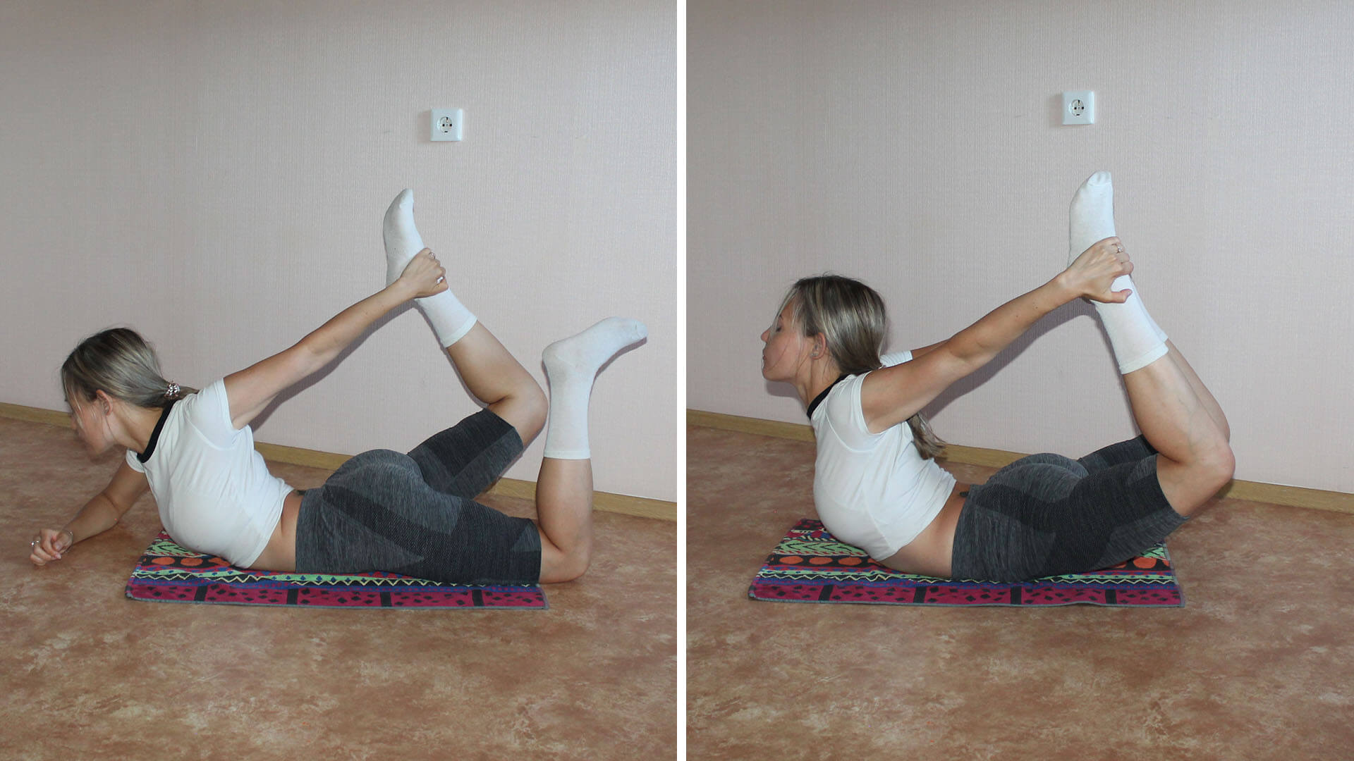 Поза лука: фото упражнения.