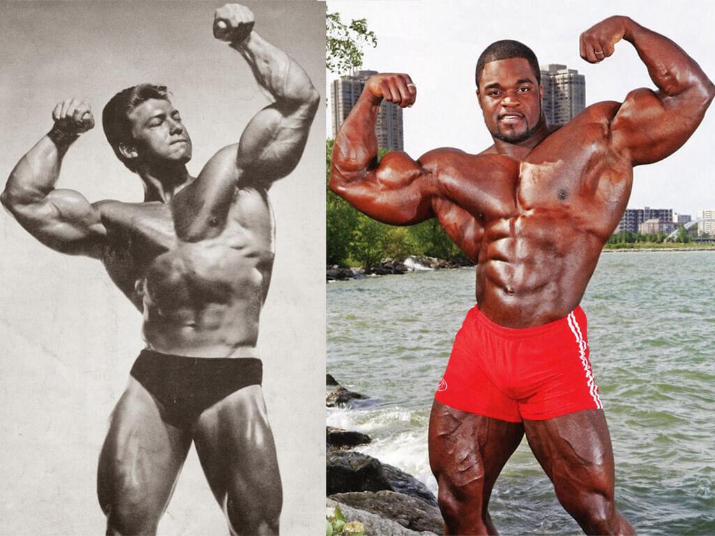 Эволюция формы победителей Мистер Олимпия: фото.