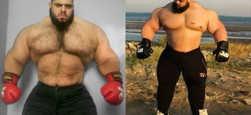 Иранский халк в MMA: фото.