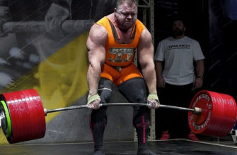 Иван Макаров попробовал взять 502 кг в становой тяги: фото.
