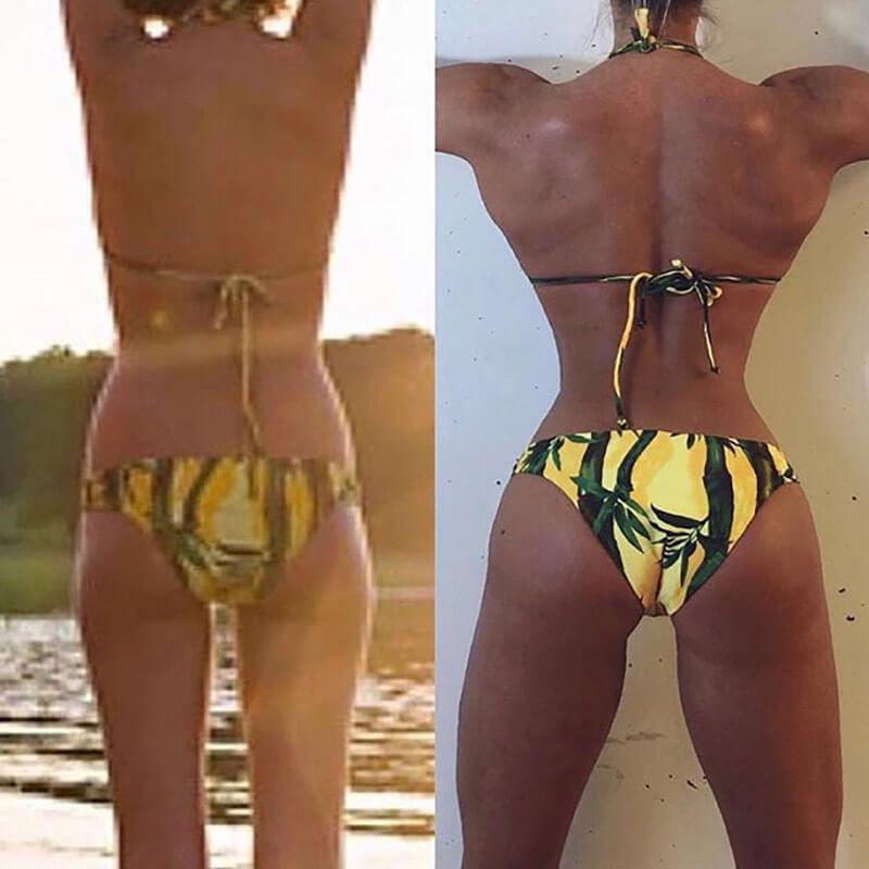 Ия Остергрен: фото ягодиц до и после.