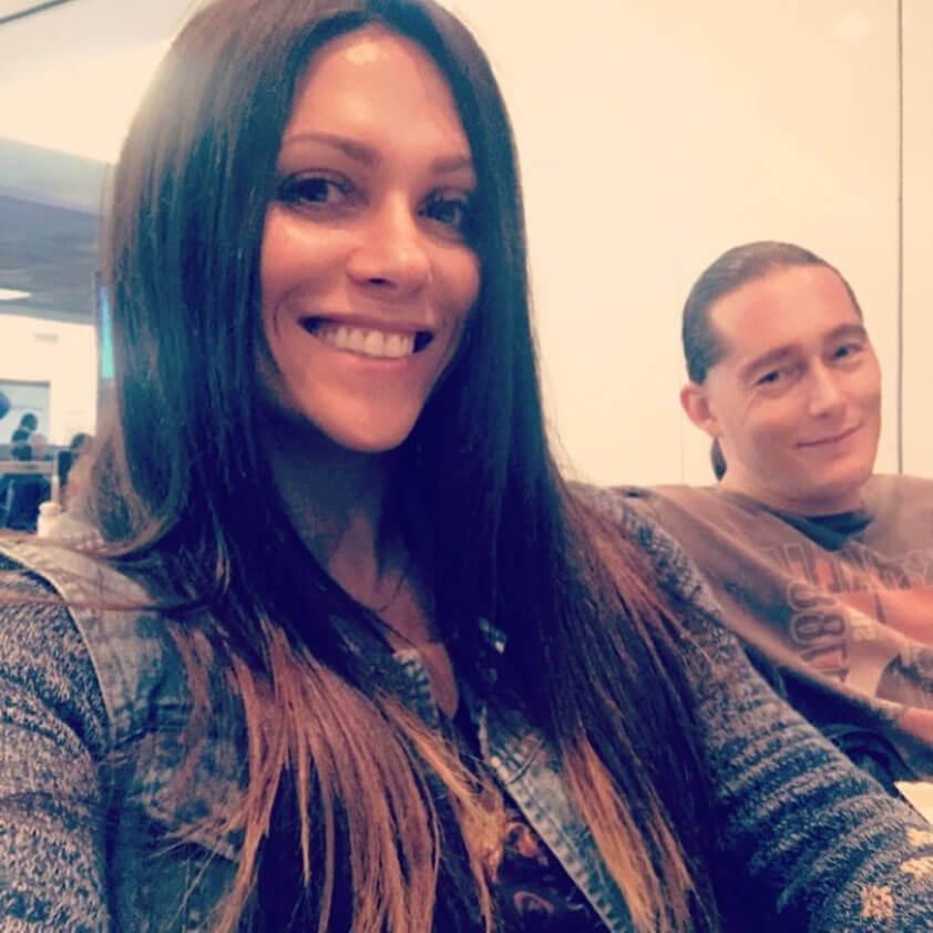 Оксана Гришина с мужем: фото2.