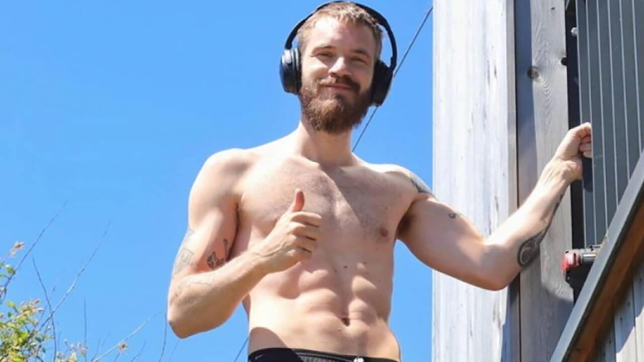PewDiePie workout