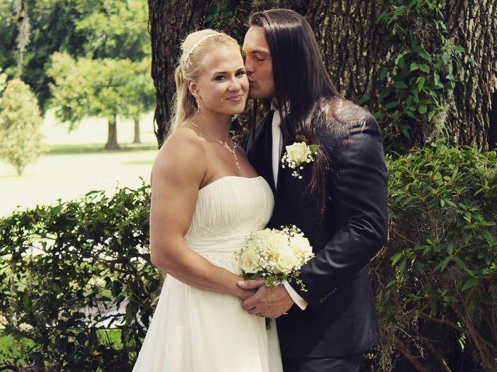Сара Бекман с мужем: фото 3.