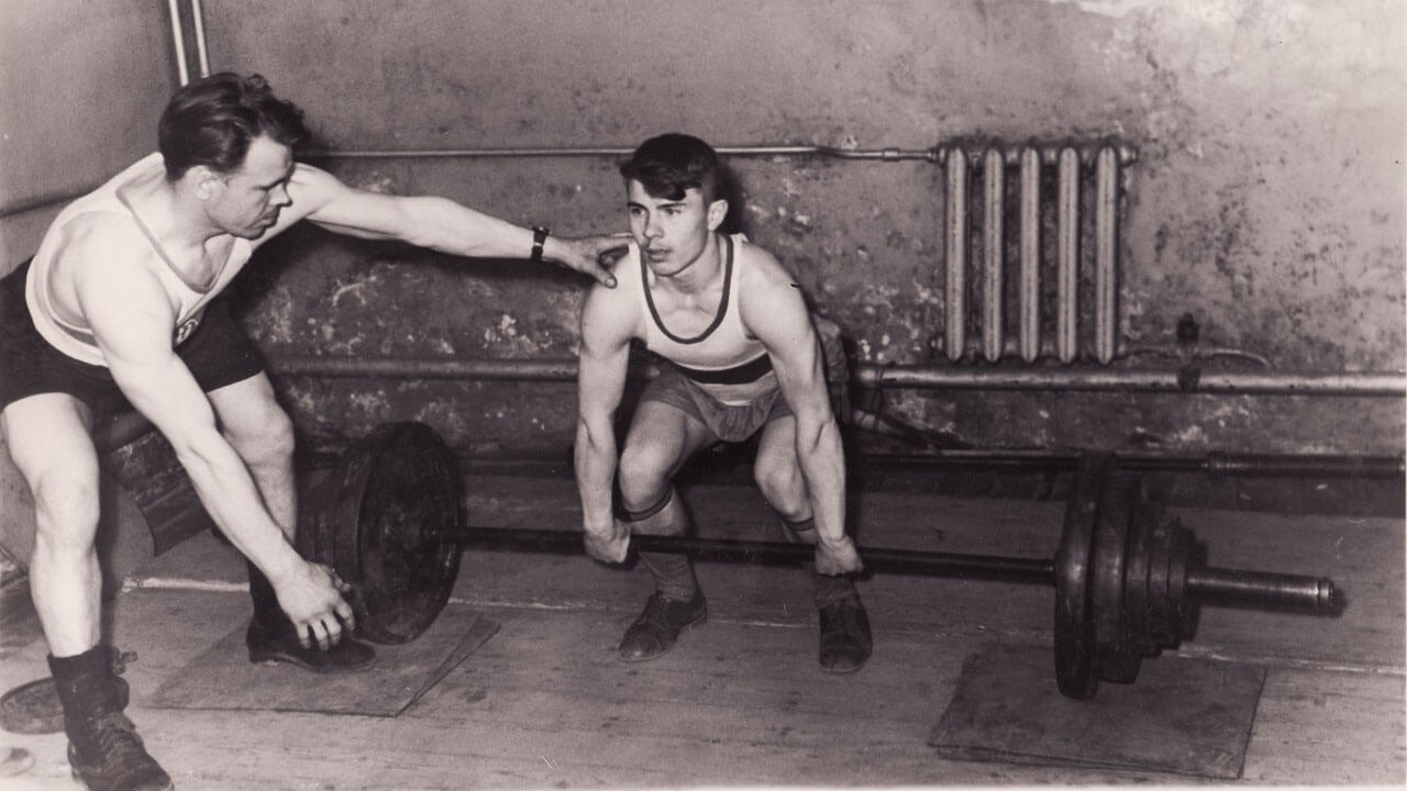 Тренер в СССР.