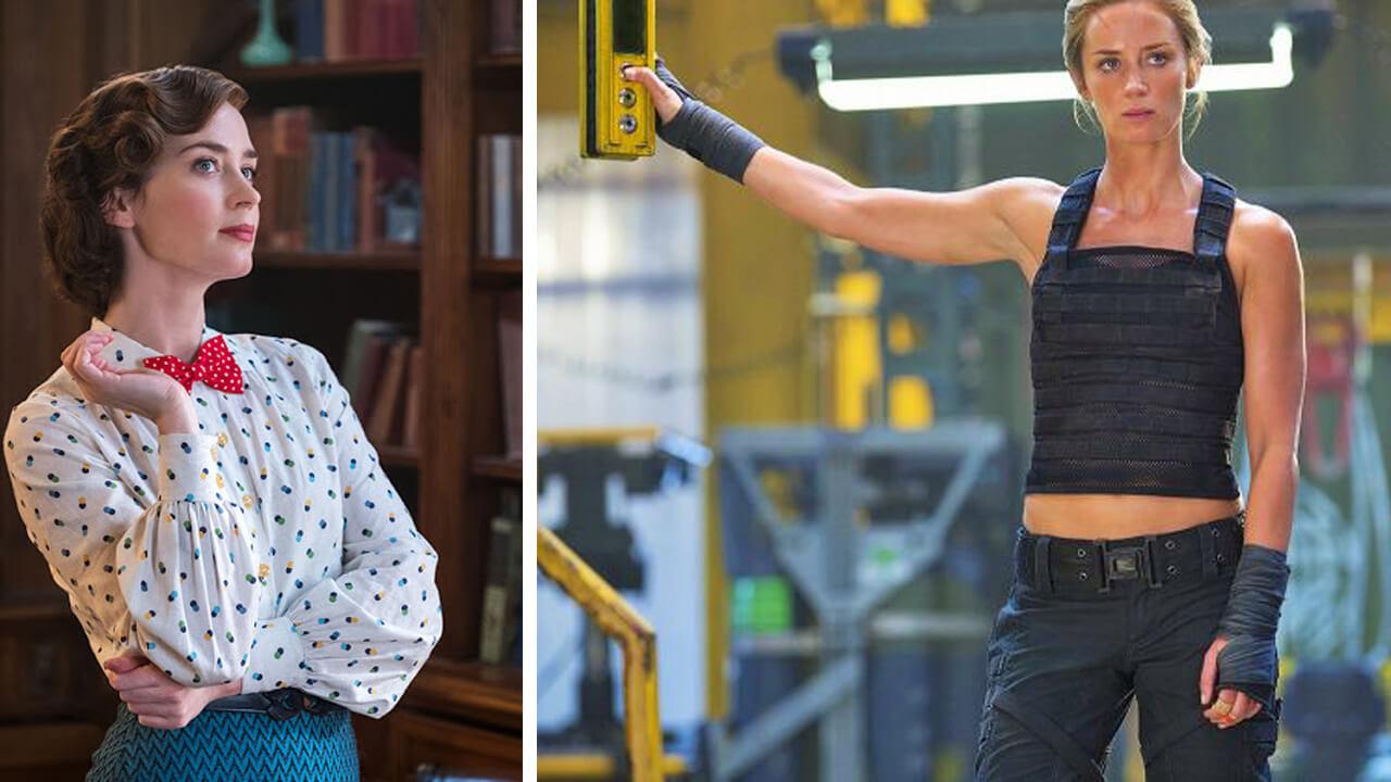 Эмили Блант: фото до и после.