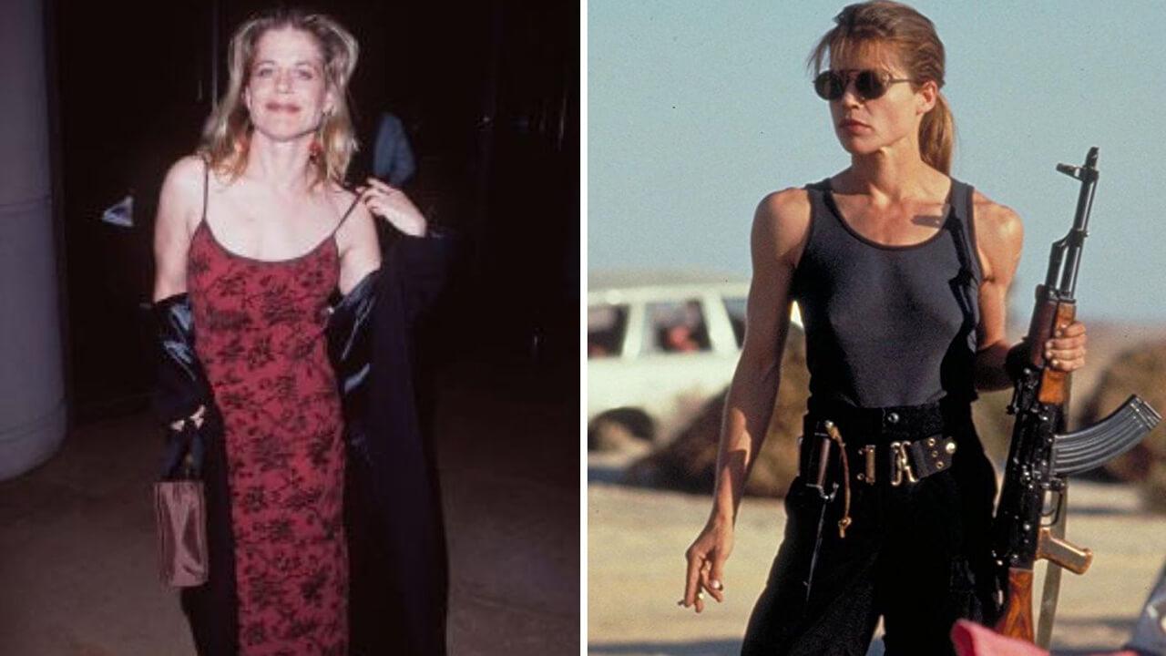 Линда Хамильтон: фото до и после.