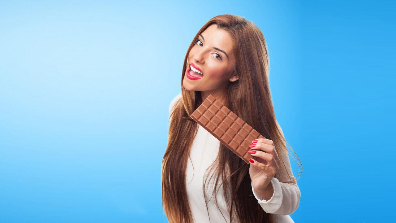 Шоколад на рефиде.