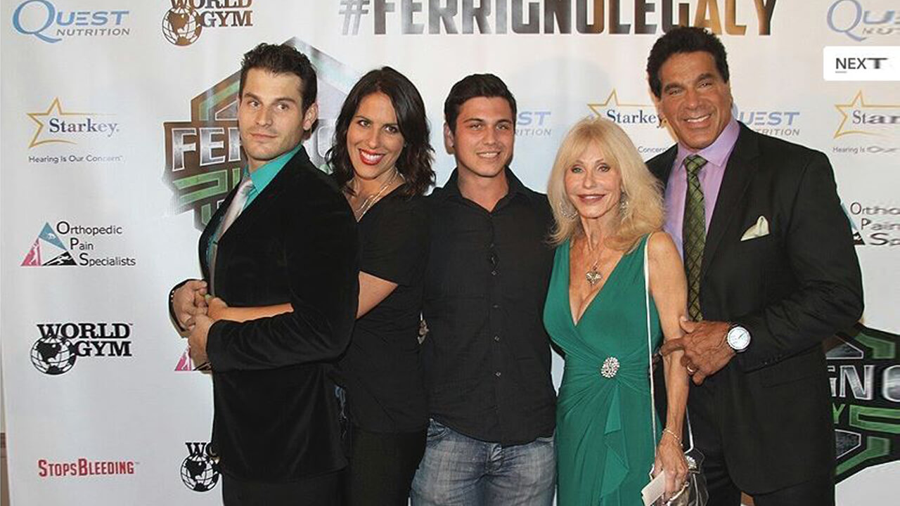 Семья Лу Ферриньо.