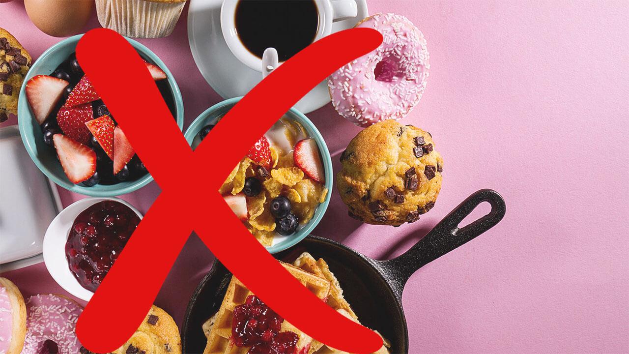 что надо убрать из рациона чтобы похудеть