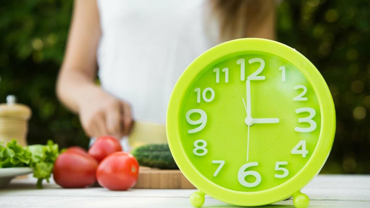 Время еды.