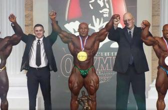 Победитель Мистер Олимпия 2020.