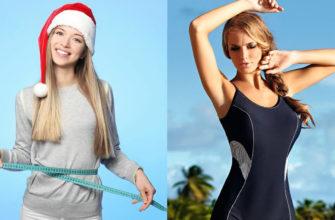 Как похудеть до лета, начиная с Нового года: фото.